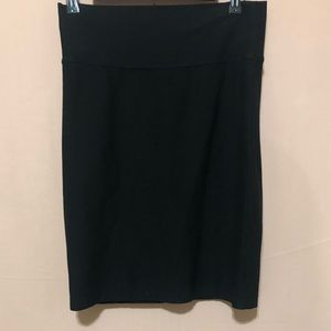Eileen Fisher Black Mini Skirt
